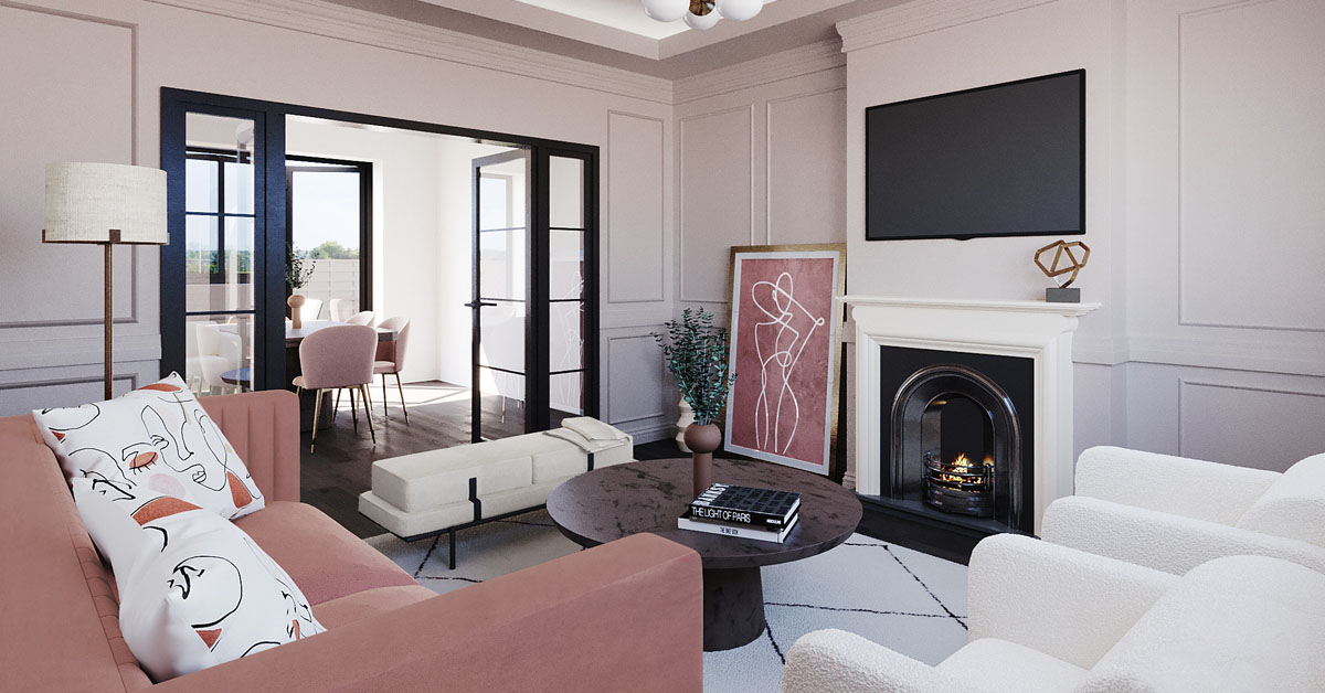 How to arrange a relaxation area in your living room?