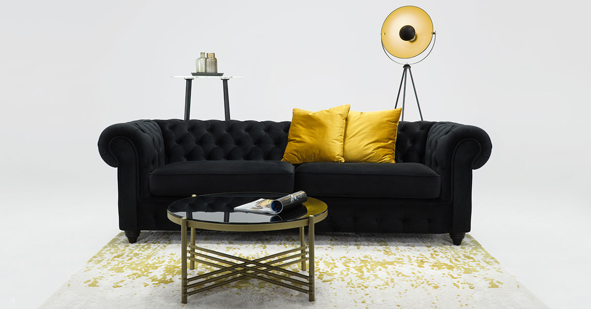Chesterfield sofas – arrangements, products, inspirations