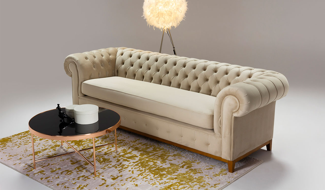 A beige sofa. Which beige sofa to choose for a modern living room.
