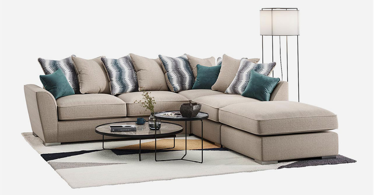 Sofas with backrest made of cushions – recommended models