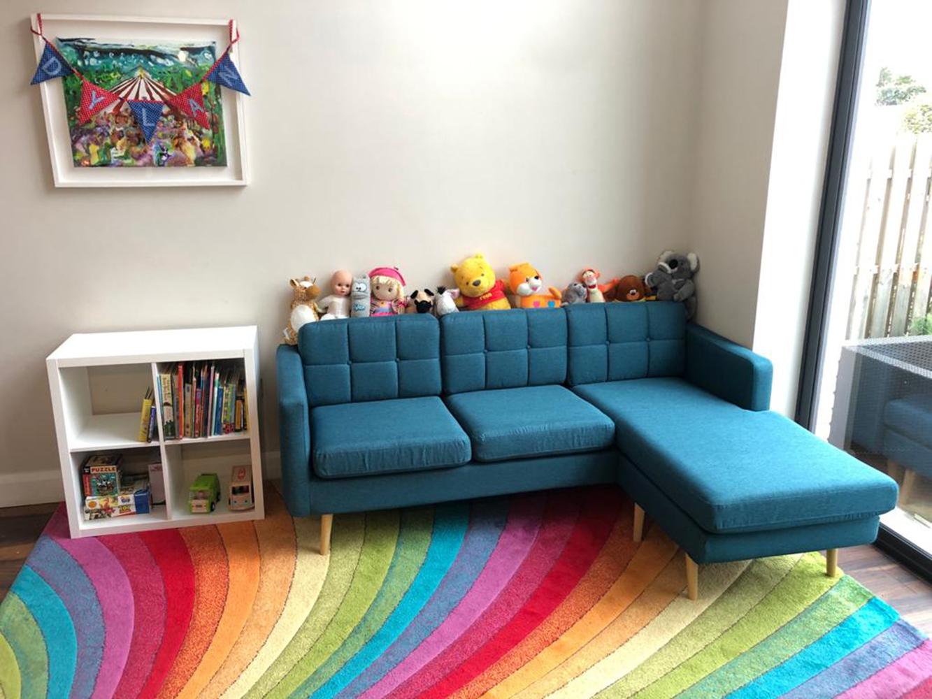 Upholstered corner sofa Brest
