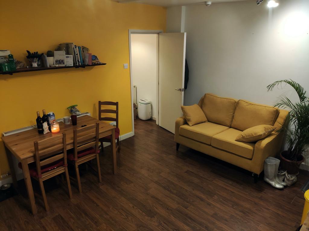 Yellow Orson two-seater sofa