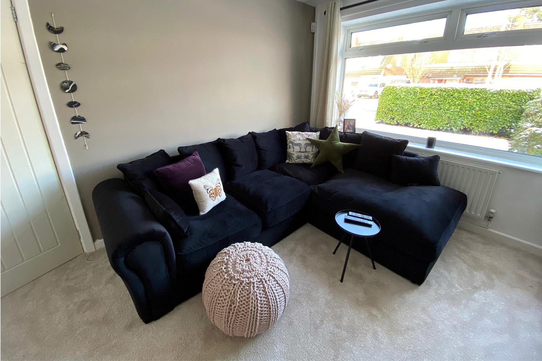 Baron right-hand corner sofa from Nina