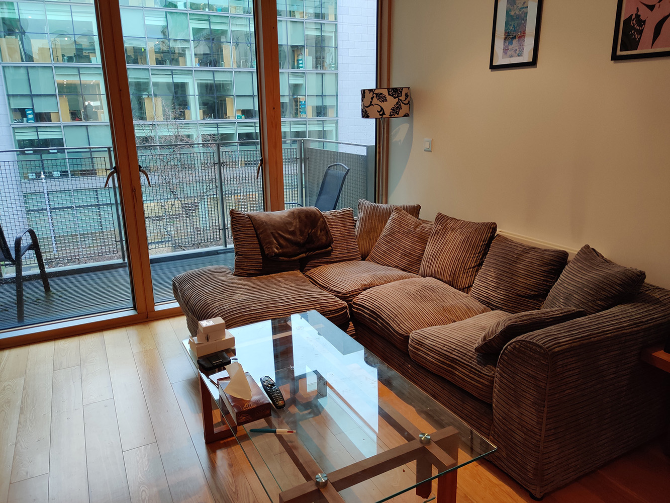 Corduroy corner sofa Dillon from Sarah