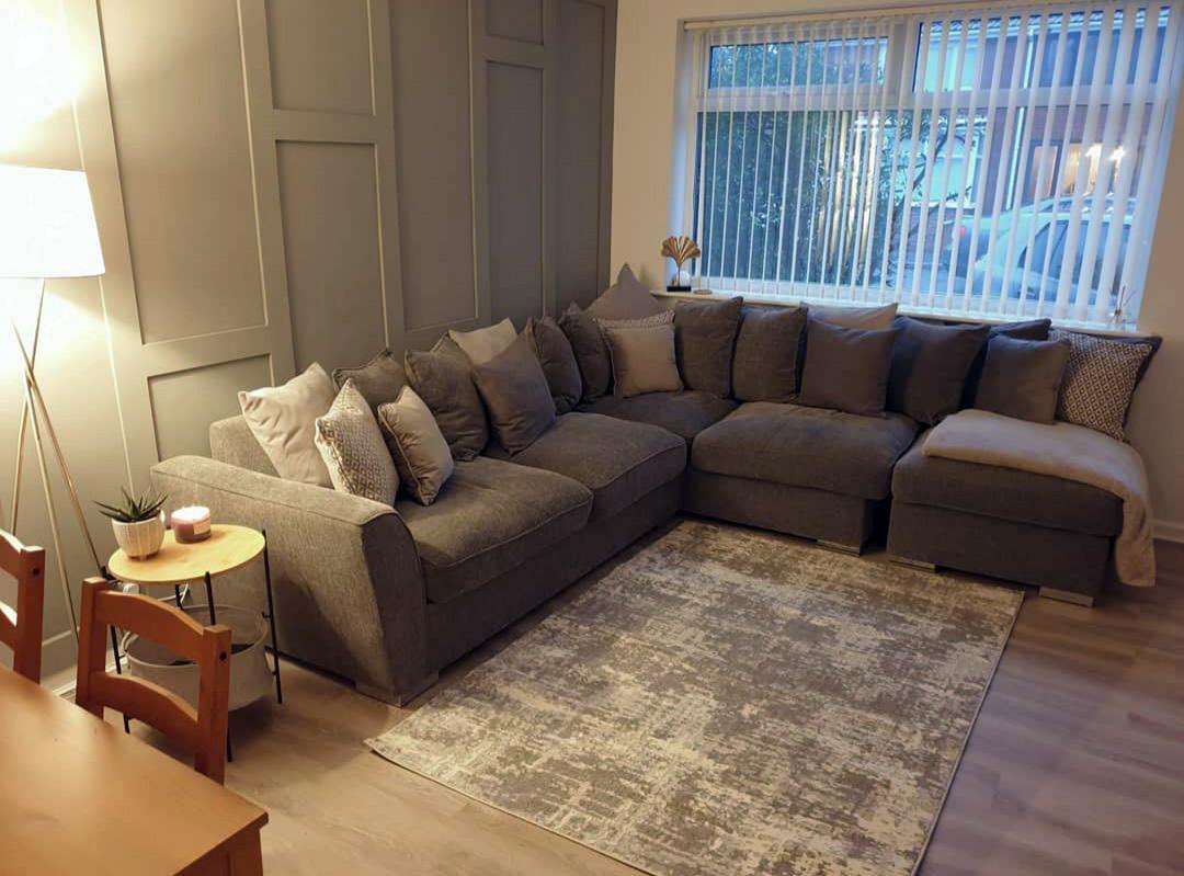 Majestic sofa from @elizabethmorrisx