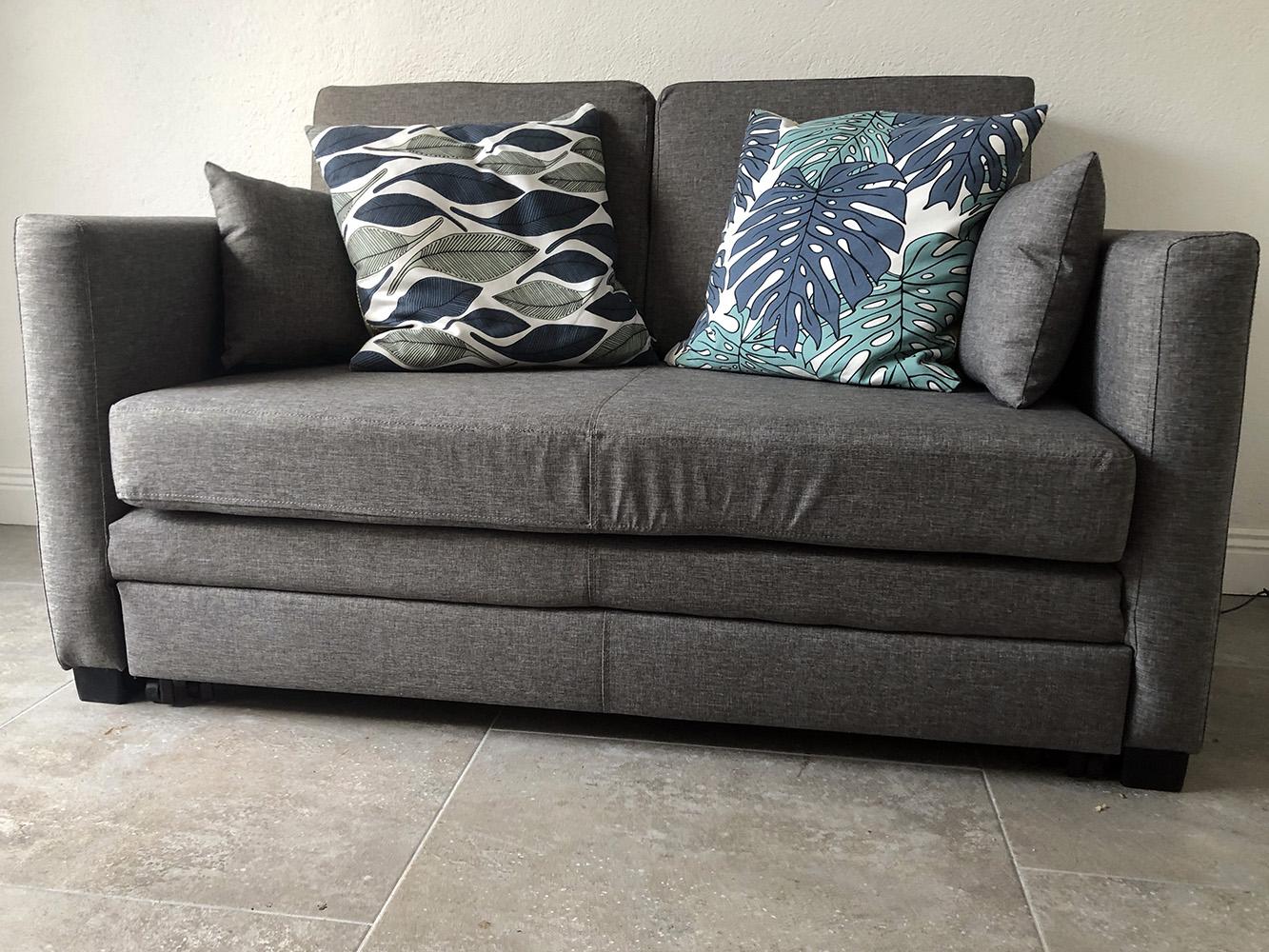 Grey Boom sofa from Patrick