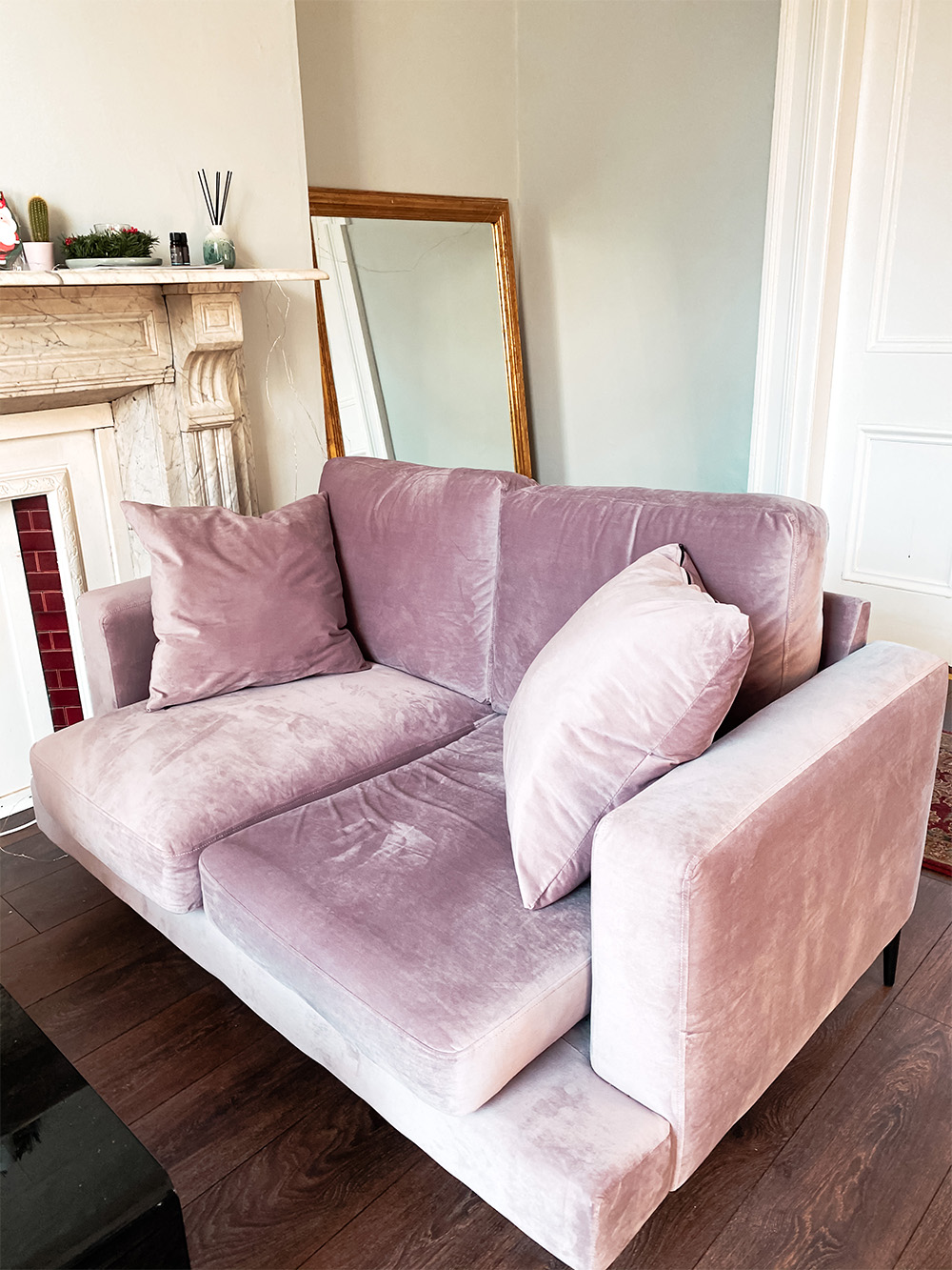 Pink double sofa Covex