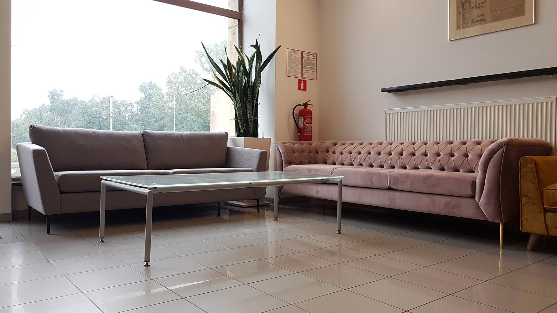 Imani Sofa and Chesterfield Modern sofa