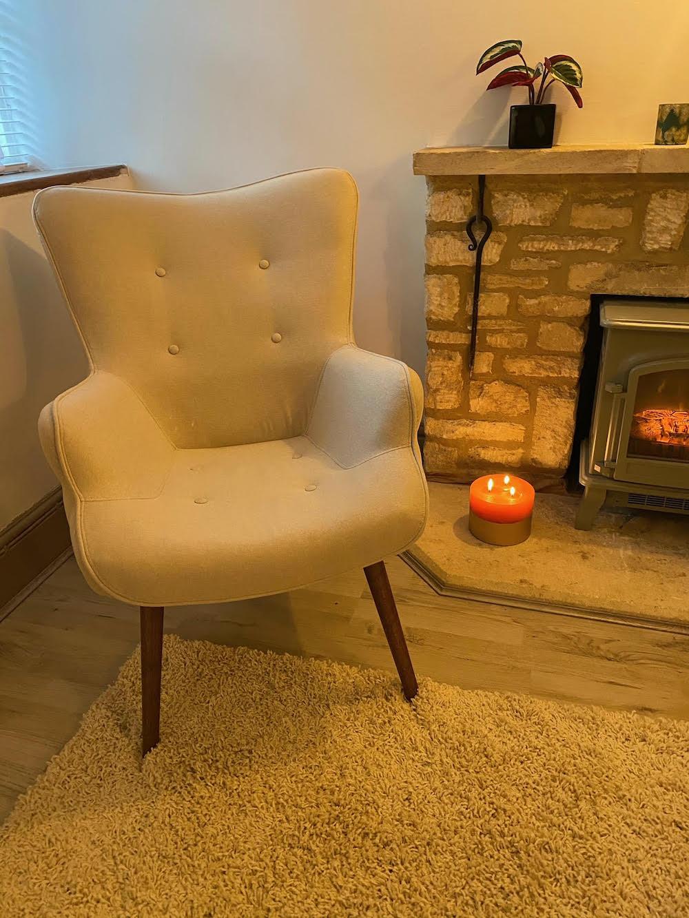 Beige Ducon Chair