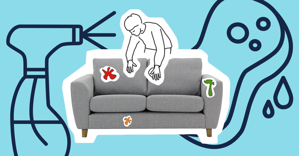 How to look after upholstered furniture?