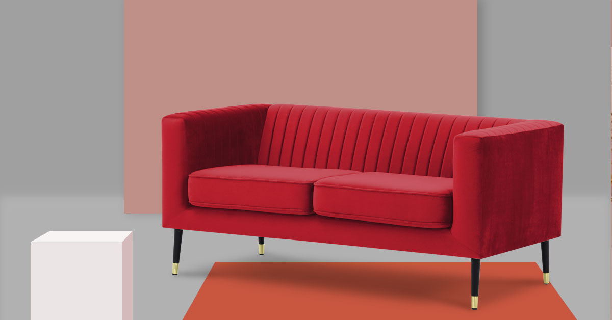 Top 5 Red Sofas