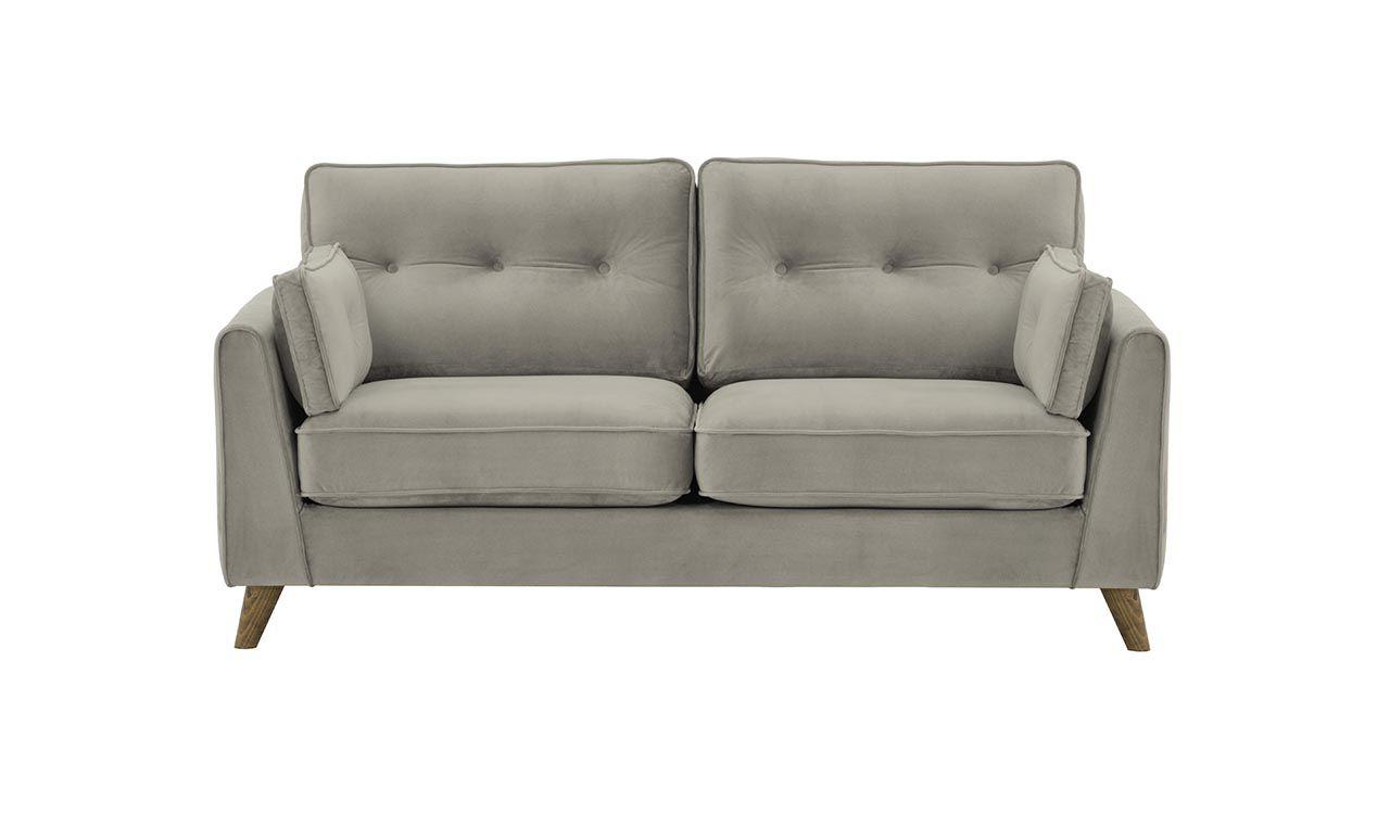 2,5 seater sofa grey